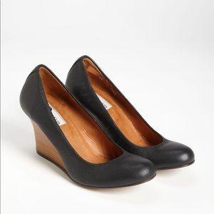 Lanvin Wedge Black Pump Size 39